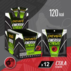 DEVER ENERGY CHEWS 120 KCAL
