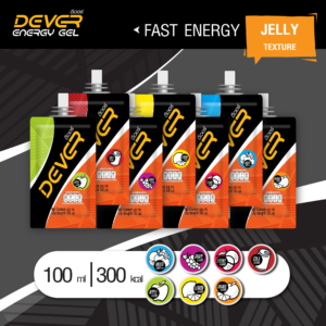 DEVER ENERGY GEL 300 KCAL