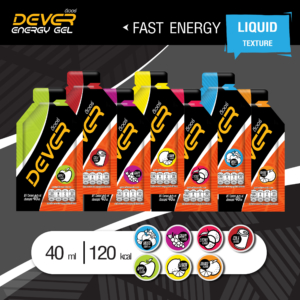 DEVER ENERGY GEL 120 KCAL